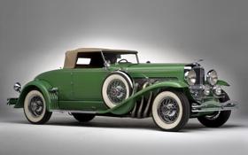 Обои ретро, автомобили, duesenberg convertible coupe