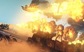 Обои погоня, Mad Max, Fury Road, Безумный Макс, Дорога ярости