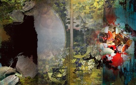 Картинка абстракция, форма, цвет
