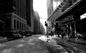 Картинка city, город, USA, NYC, winter, New_York