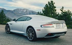 Обои Aston Martin, Природа, Авто, Горы, Машина, DB9, Car