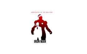 Обои новый год, премьера, железный человек, Iron Man, Тони Старк