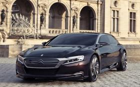 Обои Concept, здание, Citroën, концепт, передок, ситроен, номер 9