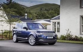 Картинка Land Rover, Range Rover, 2012, рендж ровер, Autobiography, L405