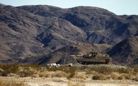 Обои оружие, танк, позиция