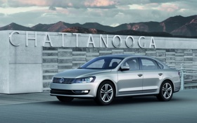 Картинка машина, авто, Volkswagen passat