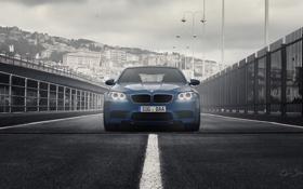 Обои Италия, Italy, BMW M5, Генуя, Genoa, Genova, DuronAutomotive
