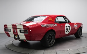 Обои Chevrolet, Camaro, камаро, гоночный, Race Car, Z/28, Pre Production Trans Am