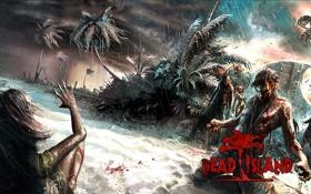 Картинка игра, зомби, DEad Island