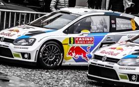 Обои Авто, Город, Volkswagen, Red Bull, WRC, Rally, Фольксваген
