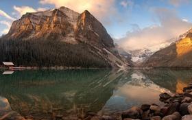 Обои Banff National Park, Lake Louise, Canadian Rockies
