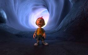 Обои мультфильм, пещера, гном, приключение, 7-ой гном, Der 7bte Zwerg