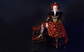 Обои Алиса в Стране Чудес, Королева, Красная