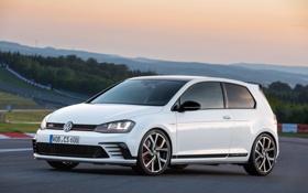 Обои Volkswagen, гольф, Golf, GTI, 2015, фльксваген
