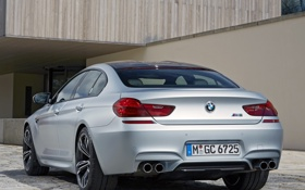 Картинка авто, бмв, BMW, Gran Coupe, задок