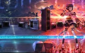 Картинка сцена, Vocaloid, club otona