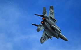 Обои четвёртого, поколения, истребитель, F-15, небо, McDonnell Douglas, Eagle