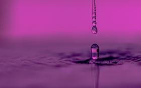 Обои вода, брызги, капля, всплеск, жидкость