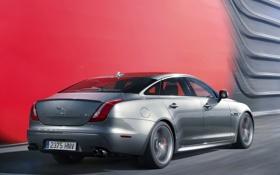 Обои jaguar, xjr, авто, задок, car, wallpaper