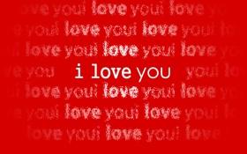 Обои white, люблю, сердце, red, love