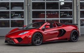 Картинка red, вид сбоку, Spyder, макларен, McLaren MP4-12C, FAB Design
