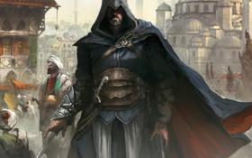 Картинка эцио, истамбул, мечеть, ассасин, assassins creed revelations