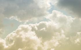 Обои белый, небо, облака, тучи, природа, фото, пейзажи