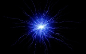 Обои взрыв, вспышка, свет, лучи, обои