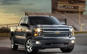 Картинка Chevrolet, шевроле, 2013, Crew Cab, LTZ, Silverado, сильверадо