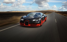 Обои veyron, sport, bugatti, super