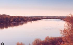 Обои природа, река, фотограф, photography, photographer, Ока, GK media