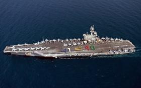Картинка birthday, aircraft carrier, USS George H.W. Bush
