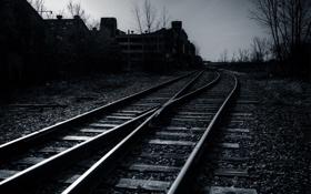 Картинка metal, wood, railroad