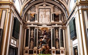 Картинка церковь, собор, религия, алтарь