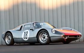 Обои Порше, 904, Porsche, GTS, передок, суперкар, 1963