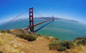 Обои пейзаж, мост, вода