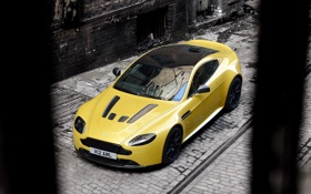 Картинка машина, передок, астон мартин, V12 Vantage S, Aston Martin