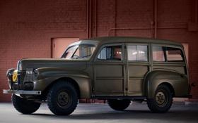 Обои Ford, Car, форд, 1941, Staff, C11, ADF