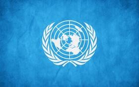 Обои ООН, United Nations Flag, Организация Объединенных Наций