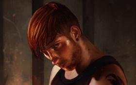 Картинка взгляд, рыжий, борода, парень, man, Fighter