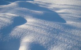 Обои зима, снег, белый