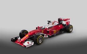 Обои формула 1, Ferrari, болид, феррари, Formula 1, SF16-H