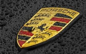 Обои капли, макро, логотип, эмблема, значёк, logo, герб