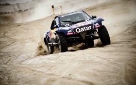Картинка Песок, Авто, Спорт, Машина, Rally, Dakar, Дакар