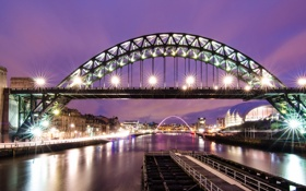 Обои Central, England, Gateshead