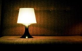 Обои светильник, лампа, фото, обои, диван, разное