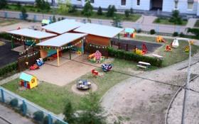 Картинка город, детская, площадка, дети, Улица
