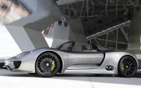 Обои машина, Concept, Porsche, концепт, порше, Spyder, 918