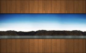 Обои фото, стена, природа, пейзажи, стены, обои для рабочего стола, креатив