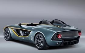 Обои Концепт, Спидстер, Concept, Speedster, вид сзади, Aston Martin, Астон Мартин